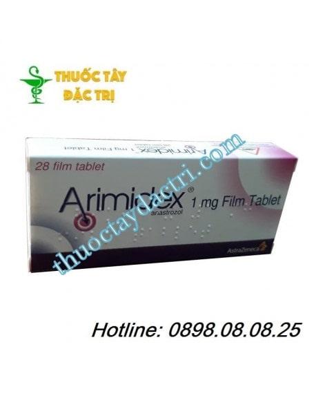 Thuốc trị ung thư vú Arimidex 1mg