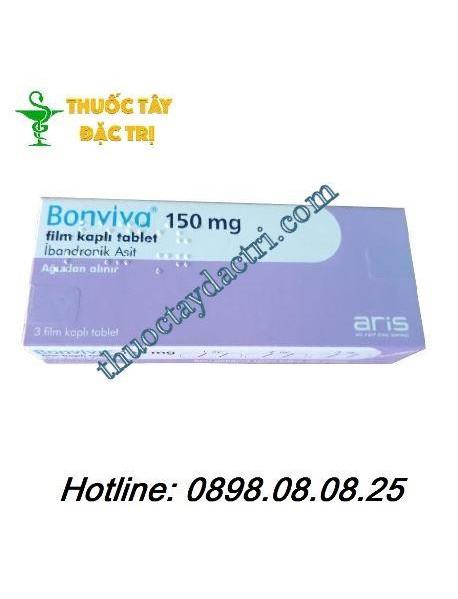 Thuốc loãng xương Bonviva 150mg