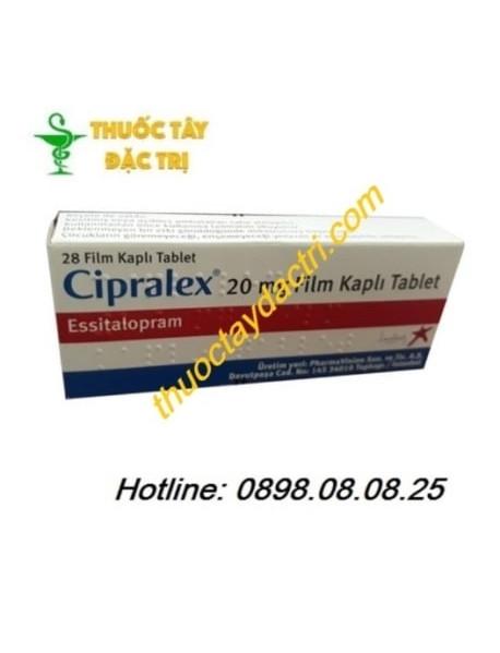 thuốc trị trầm cảm Cipralex 20mg