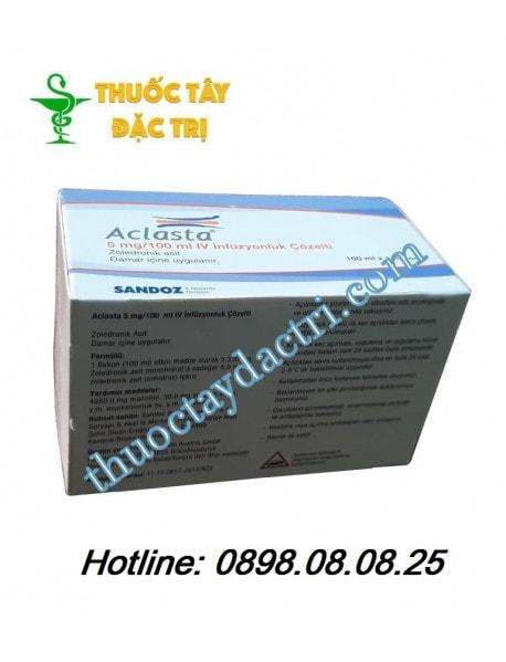 Thuốc trị loãng xương Aclasta 5mg/100ml