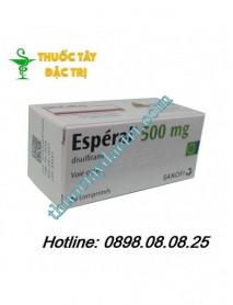 Thuốc cai rượu Esperal 500mg hộp 20 viên