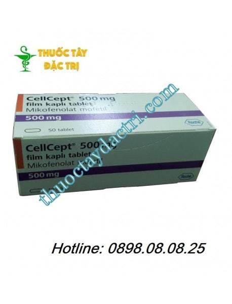 Thuốc Cellcept 500mg ức chế miễn dịch phòng thải ghép
