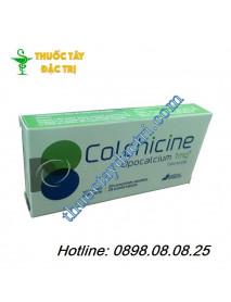 Thuốc trị gout Colchicine 1mg hàng pháp
