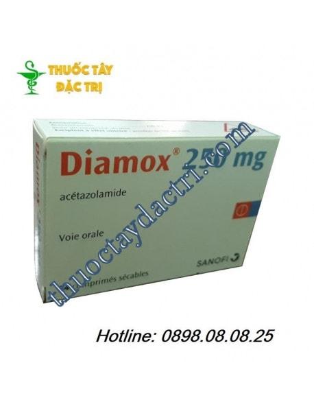 Thuốc Diamox 250mg hộp 24 viên