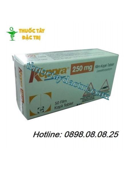 Thuốc Keppra 250mg điều trị bệnh động kinh