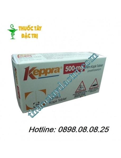 Thuốc chống động kinh co giật Keppra 500mg