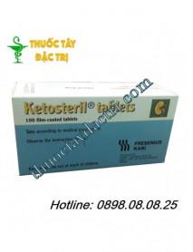 Thuốc đạm thận ketosteril hộp 100 viên