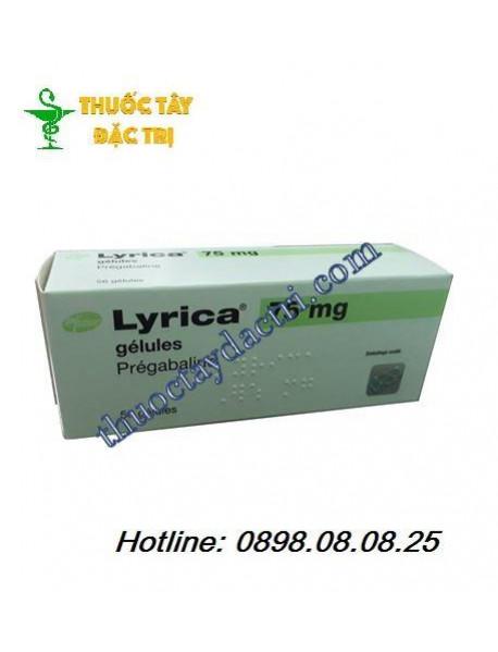 Thuốc điều trị động kinh Lyrica 75mg hộp 56 viên