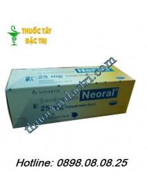 Thuốc ức chế miễn dịch Sandimmun Neoral 25mg