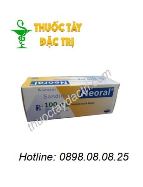 Thuốc Ức Chế Miễn Dịch Sandimmun Neoral 100mg