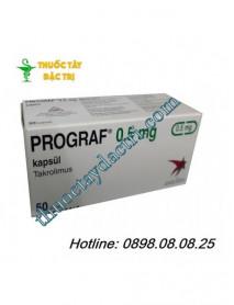 Thuốc ức chế miễn dịch Prograf 0.5mg