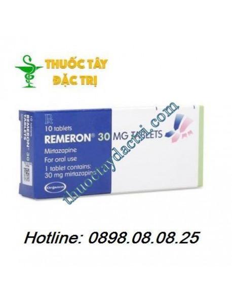 Thuốc trị trầm cảm Remeron 30mg