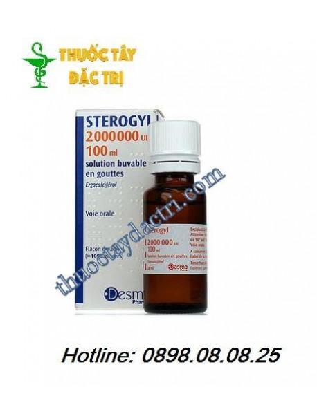 Thuốc bổ sung Vitamin D sterogyl 2000000UI/100ml