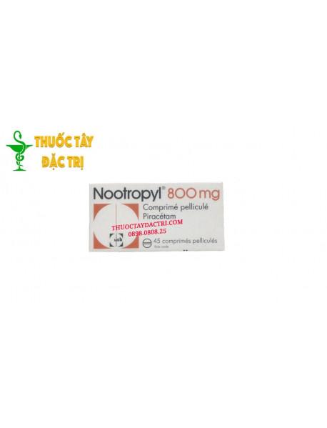 Thuốc Nootropyl 800mg hộp 45 viên