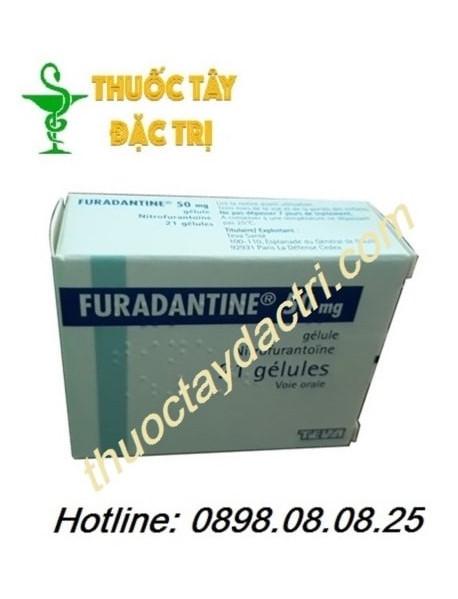 thuốc trị viêm bàng quang Furadantine 50mg