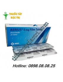 Thuốc chữa dị ứng Aerius 5mg loại 20 viên