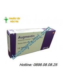 Thuốc kháng sinh Augmentin 625mg hàng pháp