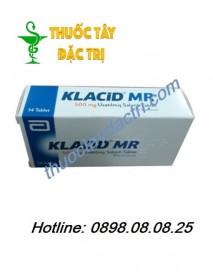 Thuốc Kháng Sinh Klacid MR 500mg Hộp 14 Viên