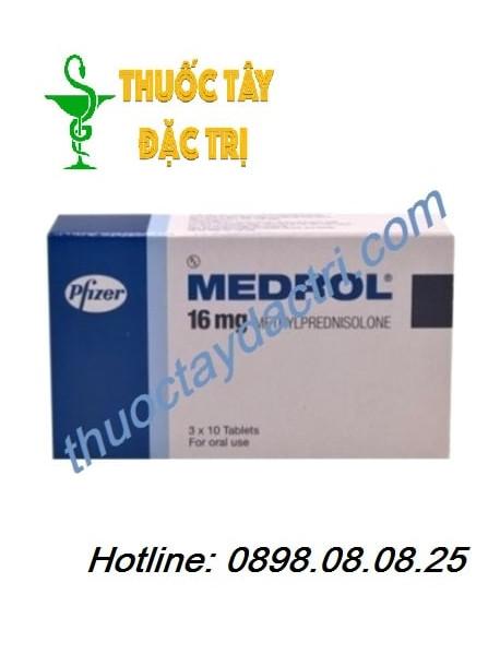 Thuốc Kháng Viêm Medrol 16mg Hộp 30 Viên