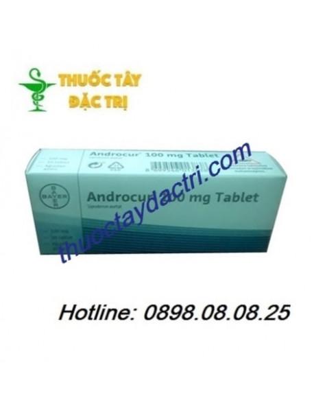 thuốc nội tiết tố Androcur 100mg hộp 30 viên