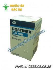 Thuốc nội tiết tố Dostinex 0.5mg hộp 8 viên