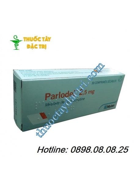 Thuốc nội tiết tố Parlodel 2.5mg