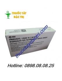 thuốc tiêm kích noãn Pregnyl 1500 IU I.M/S.C