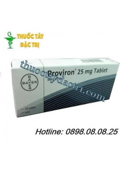 Thuốc Proviron 25mg tăng cường Testosterone nam giới