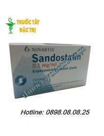 Thuốc Sandostatin 1mg/ml hộp 3 ống tiêm
