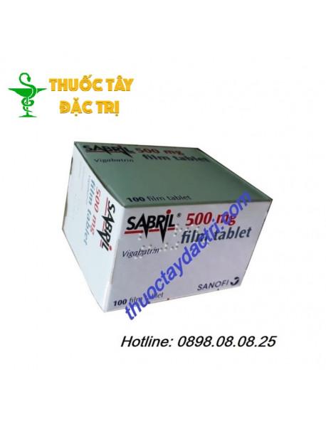Thuốc sabril 500mg hộp 100 viên hàng thổ