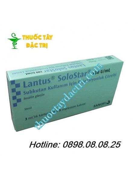 Bút tiêm hạ đường huyết Lantus Solostar 3ml