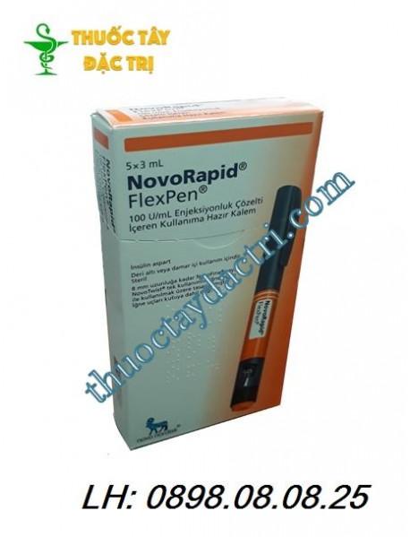 Bút tiêm tiểu đường NovoRapid FlexPen 100U/ml