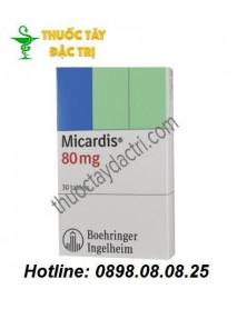 Thuốc Trị Huyết Áp Vô Căn Micardis 80mg