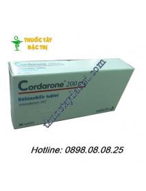 Thuốc chống loạn nhịp tim Cordarone 200mg