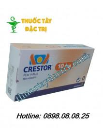 Thuốc hạ mỡ máu crestor 10mg hộp 28 viên