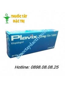 Thuốc dự phòng huyết khối Plavix 75mg