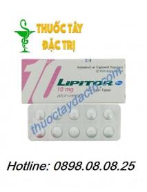 Thuốc Lipitor 10mg Hạ Cholesterol Máu