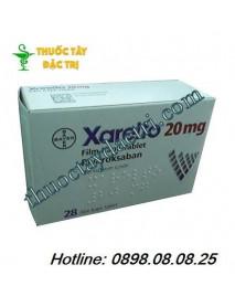 Thuốc chống huyết khối Xarelto 20mg hộp 28 viên